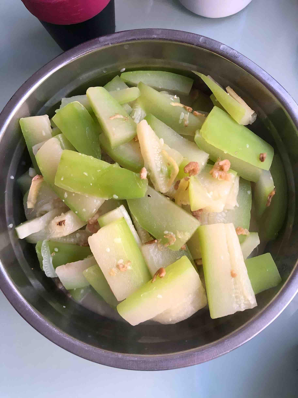 虾米煮节瓜