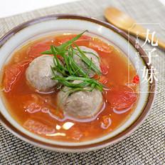 番茄牛丸汤
