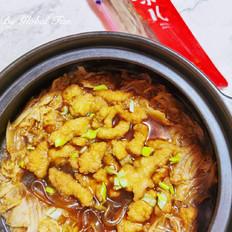 白菜炖小酥肉