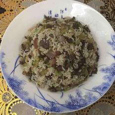 炒酸菜牛肉饭