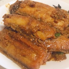 红烧带鱼(家熬带鱼)