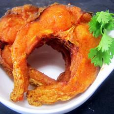 黄金麻辣熏鱼