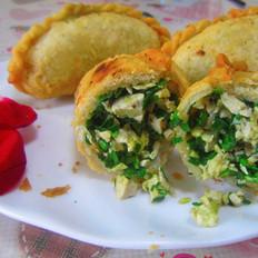 美味韭菜鸡蛋饺