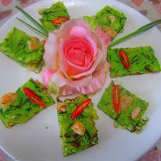 鲜虾青瓜烙