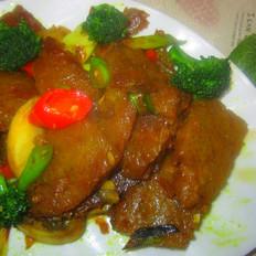 咖喱炒焖子