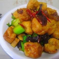 辣炒豆腐泡
