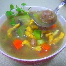 西安名小吃  肉丸胡辣汤