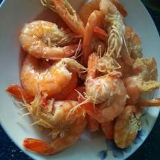 蒜香油焖虾