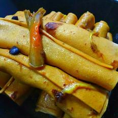 鲜香豆腐卷