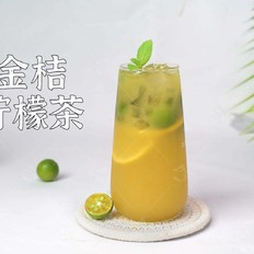金桔柠檬茶 好喝自制饮品