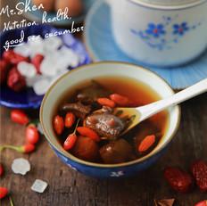 红枣冰糖炖海参
