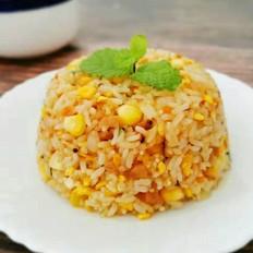 杂锦藜麦炒饭