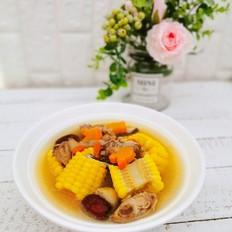 营养滋补,好喝美味的胡萝卜玉米香菇鸡汤