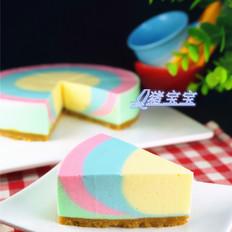 彩虹酸奶慕斯