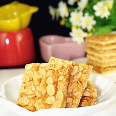 焦糖杏仁饼