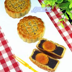 蛋黄红豆蓉月饼