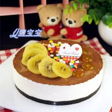 酸奶慕斯装饰蛋糕
