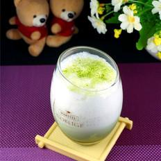冰绿茶牛奶