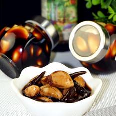 野山椒酱油蒜头