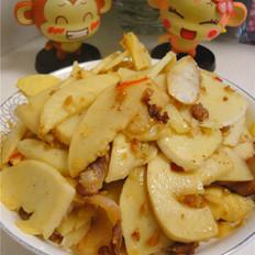 鲜竹笋炒猪肉