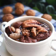 核桃章鱼猪骨汤