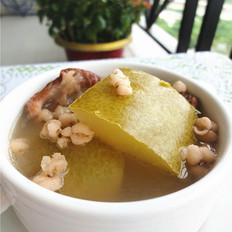 节瓜薏米煲猪骨