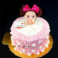 6寸泡浴娃娃蛋糕
