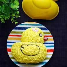小黄鸭淡酸奶蛋糕