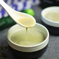薏米黄瓜绿豆浆的做法