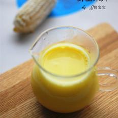 鲜玉米汁的做法