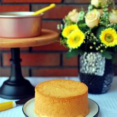 成功率超高的配方:6寸戚风蛋糕