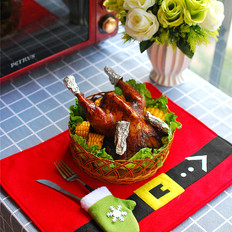 圣诞烤全鸡