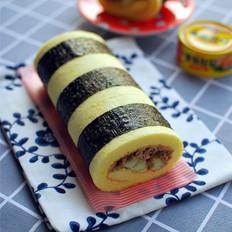金枪鱼寿司蛋糕卷