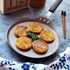 红薯米饭煎饼