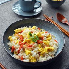 微波火腿蛋炒饭
