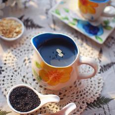 黑芝麻燕麦豆浆