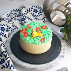 足球小子慕斯蛋糕