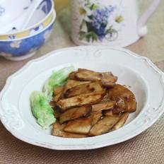 韩式肉酱烤杏鲍菇