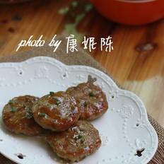 照烧莲藕肉饼