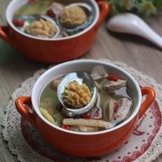 鲜鲍鱼瘦肉汤