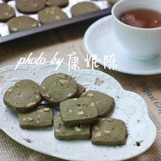 抹茶杏仁饼干