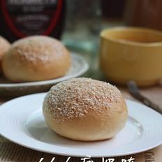 花生酱奶酥面包