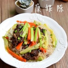牛肉炒米粉