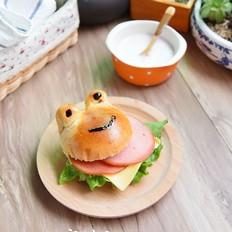 青蛙火腿汉堡包