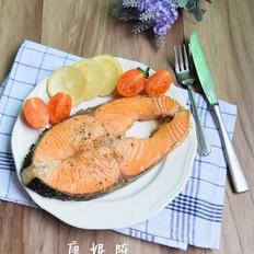 柠香三文鱼扒