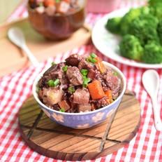 土豆排骨杂粮饭