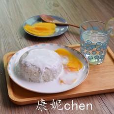 芒果椰香糯米饭