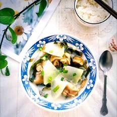 冬瓜海带咸猪手汤