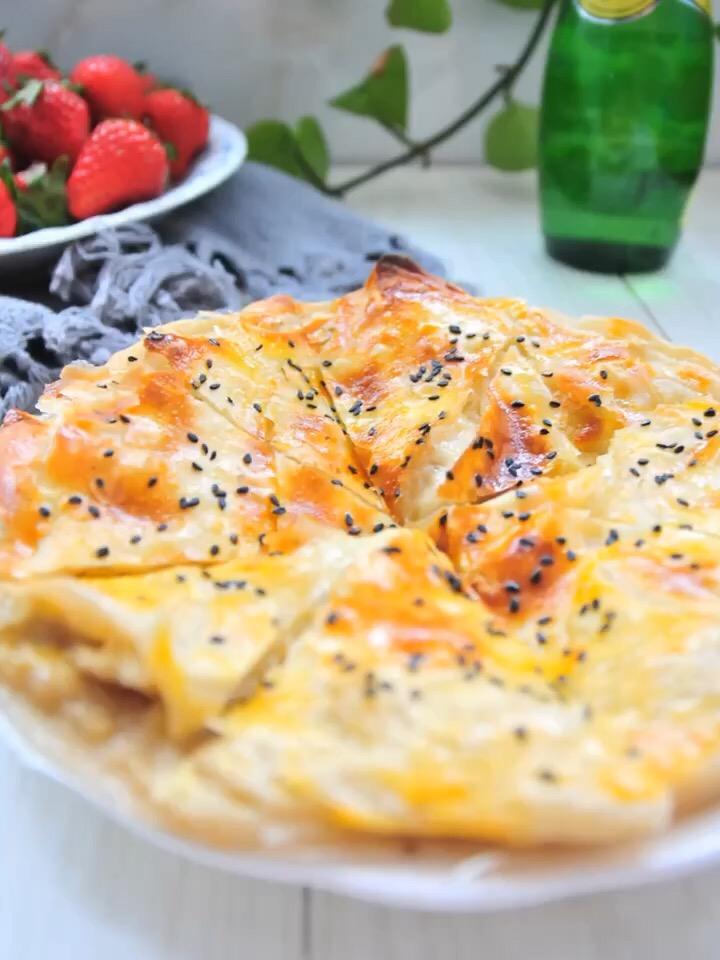 香蕉披萨(手抓饼版)
