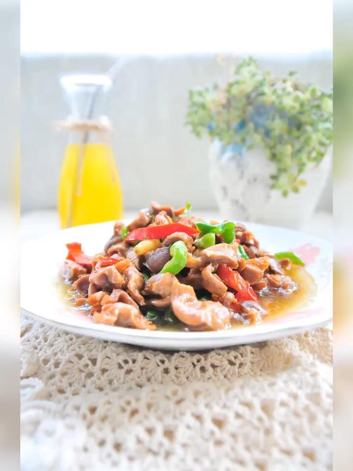 辣椒炒雞肫